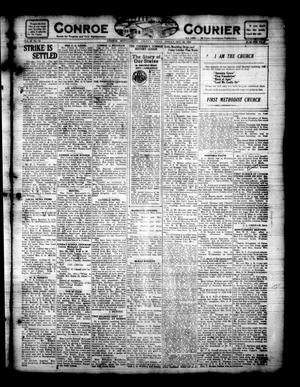 Primary view of object titled 'Conroe Courier (Conroe, Tex.), Vol. 29, No. 43, Ed. 1 Friday, October 28, 1921'.