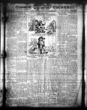 Primary view of object titled 'Conroe Courier (Conroe, Tex.), Vol. 29, No. 13, Ed. 1 Friday, April 1, 1921'.