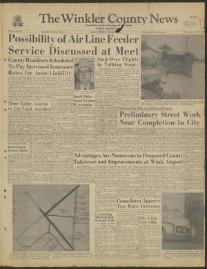 Primary view of object titled 'The Winkler County News (Kermit, Tex.), Vol. 24, No. 24, Ed. 1 Thursday, July 27, 1961'.