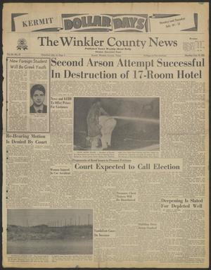 Primary view of object titled 'The Winkler County News (Kermit, Tex.), Vol. 24, No. 19, Ed. 1 Monday, July 10, 1961'.