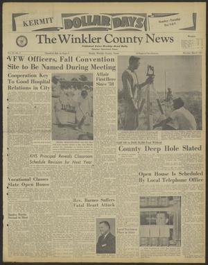 Primary view of object titled 'The Winkler County News (Kermit, Tex.), Vol. 25, No. 2, Ed. 1 Monday, May 8, 1961'.