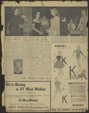 Primary view of object titled 'The Winkler County News (Kermit, Tex.), Vol. [24], No. [83], Ed. 1 Thursday, February 16, 1961'.