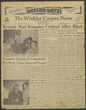 Primary view of object titled 'The Winkler County News (Kermit, Tex.), Vol. 24, No. 27, Ed. 1 Monday, August 7, 1961'.