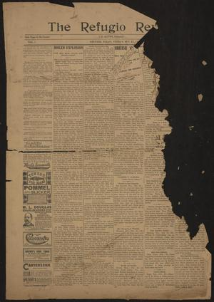 Primary view of object titled 'The Refugio Review. (Refugio, Tex.), Vol. 1, No. [47], Ed. 1 Friday, October 27, 1899'.