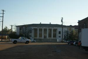 Primary view of object titled 'American Legion Building in Paris, Texas'.