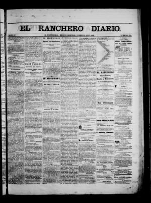 Primary view of object titled 'The Daily Ranchero. (Matamoros, Mexico), Vol. 1, No. 218, Ed. 1 Sunday, February 4, 1866'.