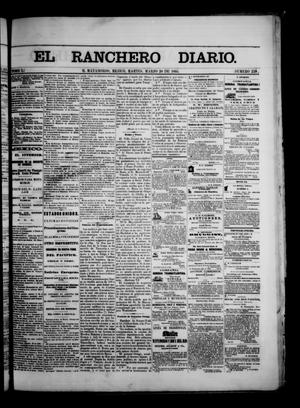 Primary view of The Daily Ranchero. (Matamoros, Mexico), Vol. 1, No. 255, Ed. 1 Tuesday, March 20, 1866