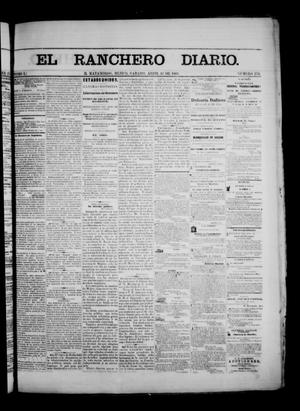 Primary view of object titled 'The Daily Ranchero. (Matamoros, Mexico), Vol. 1, No. 276, Ed. 1 Saturday, April 14, 1866'.