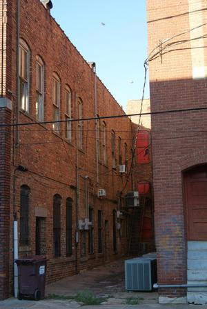 Primary view of object titled 'Alley in Downtown Paris, Texas'.
