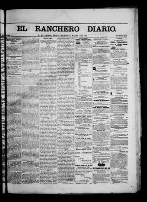 Primary view of object titled 'The Daily Ranchero. (Matamoros, Mexico), Vol. 1, No. 244, Ed. 1 Wednesday, March 7, 1866'.
