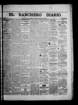 Primary view of object titled 'The Daily Ranchero. (Matamoros, Mexico), Vol. 1, No. 253, Ed. 1 Saturday, March 17, 1866'.