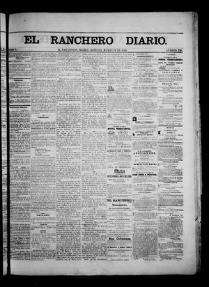 Primary view of object titled 'The Daily Ranchero. (Matamoros, Mexico), Vol. 1, No. 254, Ed. 1 Sunday, March 18, 1866'.