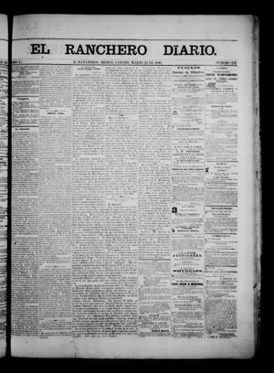 Primary view of object titled 'The Daily Ranchero. (Matamoros, Mexico), Vol. 1, No. 259, Ed. 1 Saturday, March 24, 1866'.