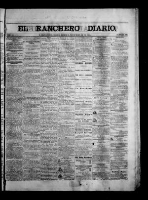 Primary view of object titled 'The Daily Ranchero. (Matamoros, Mexico), Vol. 1, No. 160, Ed. 1 Sunday, November 26, 1865'.