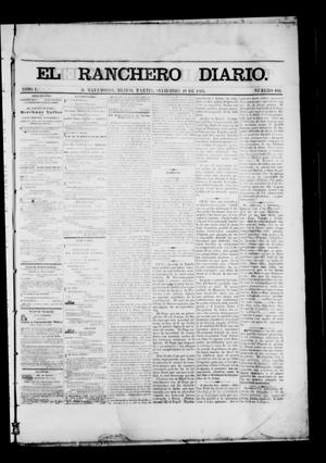 Primary view of object titled 'The Daily Ranchero. (Matamoros, Mexico), Vol. 1, No. 102, Ed. 1 Tuesday, September 19, 1865'.