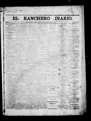 Primary view of object titled 'The Daily Ranchero. (Matamoros, Mexico), Vol. 1, No. 131, Ed. 1 Sunday, October 22, 1865'.