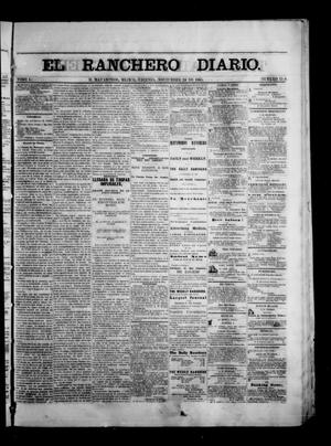 Primary view of object titled 'The Daily Ranchero. (Matamoros, Mexico), Vol. 1, No. 158, Ed. 1 Friday, November 24, 1865'.