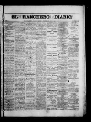 Primary view of The Daily Ranchero. (Matamoros, Mexico), Vol. 1, No. 173, Ed. 1 Tuesday, December 12, 1865
