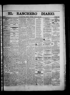 Primary view of object titled 'The Daily Ranchero. (Matamoros, Mexico), Vol. 1, No. 252, Ed. 1 Friday, March 16, 1866'.