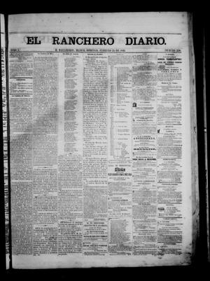 Primary view of object titled 'The Daily Ranchero. (Matamoros, Mexico), Vol. 1, No. 236, Ed. 1 Sunday, February 25, 1866'.