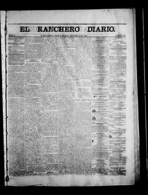 Primary view of object titled 'The Daily Ranchero. (Matamoros, Mexico), Vol. 1, No. 137, Ed. 1 Tuesday, October 31, 1865'.