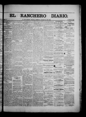 Primary view of object titled 'The Daily Ranchero. (Matamoros, Mexico), Vol. 1, No. 260, Ed. 1 Sunday, March 25, 1866'.