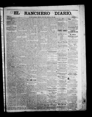 Primary view of object titled 'The Daily Ranchero. (Matamoros, Mexico), Vol. 2, No. 7, Ed. 1 Thursday, May 31, 1866'.