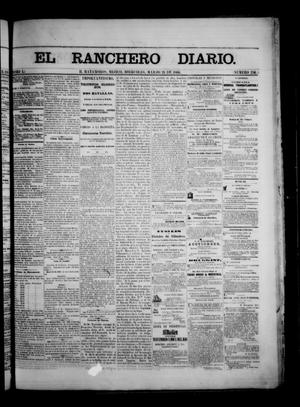 Primary view of object titled 'The Daily Ranchero. (Matamoros, Mexico), Vol. 1, No. 256, Ed. 1 Wednesday, March 21, 1866'.