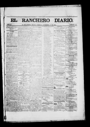 Primary view of object titled 'The Daily Ranchero. (Matamoros, Mexico), Vol. 1, No. 110, Ed. 1 Thursday, September 28, 1865'.