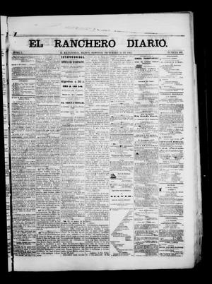 Primary view of object titled 'The Daily Ranchero. (Matamoros, Mexico), Vol. 1, No. 189, Ed. 1 Sunday, December 31, 1865'.