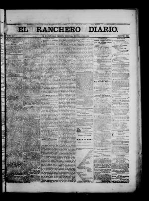 Primary view of object titled 'The Daily Ranchero. (Matamoros, Mexico), Vol. 1, No. 192, Ed. 1 Friday, January 5, 1866'.
