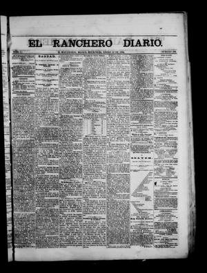 Primary view of object titled 'The Daily Ranchero. (Matamoros, Mexico), Vol. 1, No. 196, Ed. 1 Wednesday, January 10, 1866'.