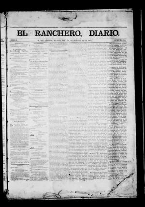 Primary view of object titled 'The Daily Ranchero. (Matamoros, Mexico), Vol. 1, No. 98, Ed. 1 Thursday, September 14, 1865'.
