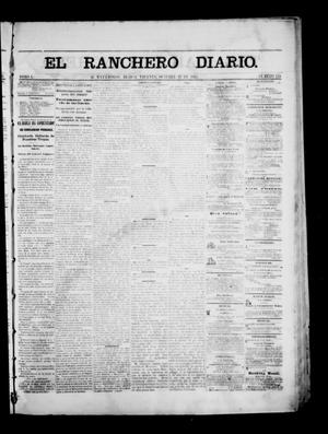 Primary view of object titled 'The Daily Ranchero. (Matamoros, Mexico), Vol. 1, No. 134, Ed. 1 Friday, October 27, 1865'.