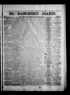Primary view of object titled 'The Daily Ranchero. (Matamoros, Mexico), Vol. 1, No. 146, Ed. 1 Friday, November 10, 1865'.