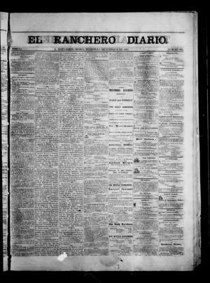 Primary view of object titled 'The Daily Ranchero. (Matamoros, Mexico), Vol. 1, No. 168, Ed. 1 Wednesday, December 6, 1865'.