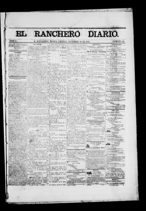 Primary view of object titled 'The Daily Ranchero. (Matamoros, Mexico), Vol. 1, No. 111, Ed. 1 Friday, September 29, 1865'.