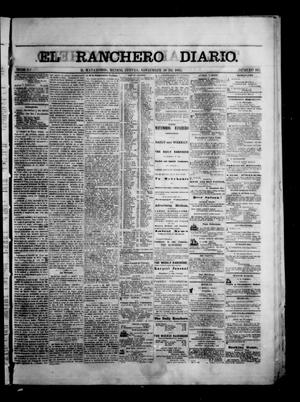 Primary view of object titled 'The Daily Ranchero. (Matamoros, Mexico), Vol. 1, No. 163, Ed. 1 Thursday, November 30, 1865'.