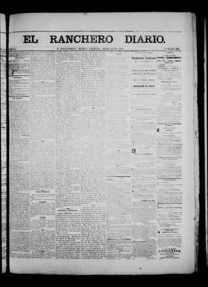Primary view of object titled 'The Daily Ranchero. (Matamoros, Mexico), Vol. 1, No. 269, Ed. 1 Friday, April 6, 1866'.