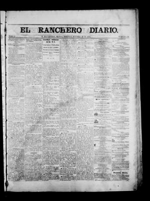 Primary view of object titled 'The Daily Ranchero. (Matamoros, Mexico), Vol. 1, No. 136, Ed. 1 Sunday, October 29, 1865'.