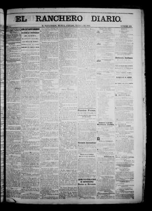 Primary view of object titled 'The Daily Ranchero. (Matamoros, Mexico), Vol. 1, No. 294, Ed. 1 Saturday, May 5, 1866'.