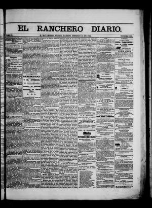 Primary view of object titled 'The Daily Ranchero. (Matamoros, Mexico), Vol. 1, No. 235, Ed. 1 Saturday, February 24, 1866'.