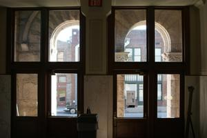Interior of Lamar County Courthouse Entrance