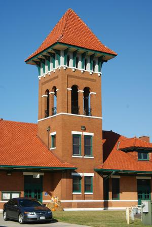 Primary view of object titled 'Paris, Texas Union Station Tower'.