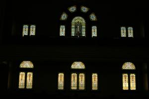 Primary view of object titled 'First United Methodist Church Windows'.
