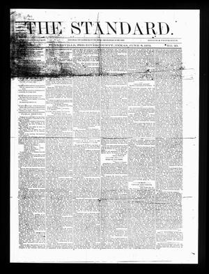 Primary view of object titled 'The Standard. (Clarksville, Tex.), Vol. 30, No. 20, Ed. 1 Saturday, June 8, 1872'.