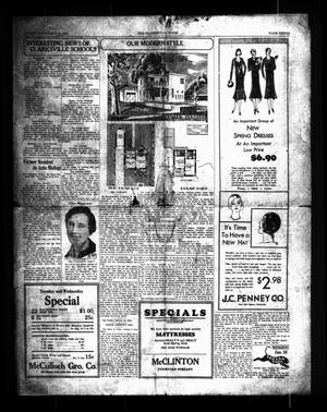 Primary view of object titled 'The Clarksville Times (Clarksville, Tex.), Ed. 1 Tuesday, January 14, 1930'.