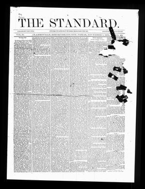 Primary view of object titled 'The Standard. (Clarksville, Tex.), Vol. 31, No. 40, Ed. 1 Saturday, November 1, 1873'.