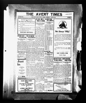Primary view of object titled 'The Avery Times (Avery, Tex.), Vol. 4, No. 38, Ed. 1 Wednesday, June 25, 1924'.