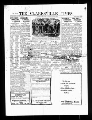 Primary view of object titled 'The Clarksville Times (Clarksville, Tex.), Vol. 56, Ed. 1 Tuesday, August 7, 1928'.